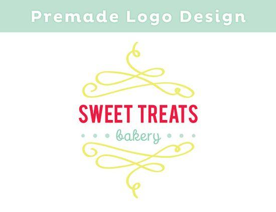 PREMADE Bakery Logo Design with Watermark by eedeedesignstudios, $35.00
