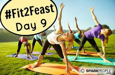 Happy Saturday, everyone!! Who's ready to squeeze in some #fitness this weekend for our #Fit2Feast challenge? Poll: What kind of #exercise are you loving lately? We've rediscovered #running outside now that it's cooler!