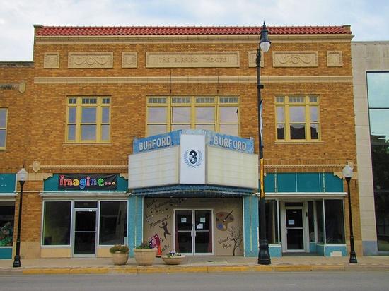 The Burford Theater -      Arkansas City, Kansas