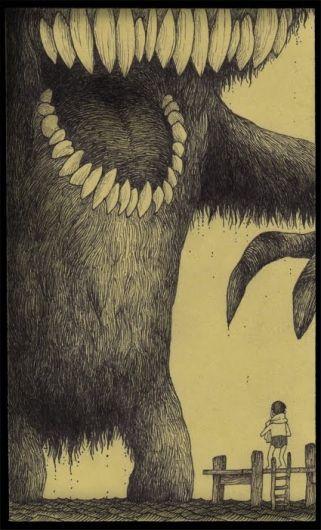 Monster illustration.