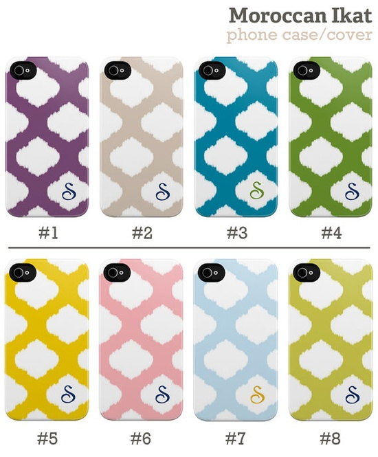 ikat phone cover