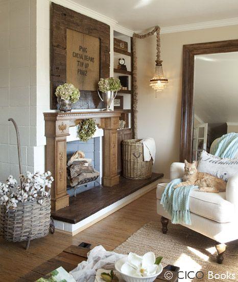 romantic prairie style decorating - Bing Images