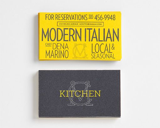 The Original Champions of Design: MC Kitchen Identity and Collateral