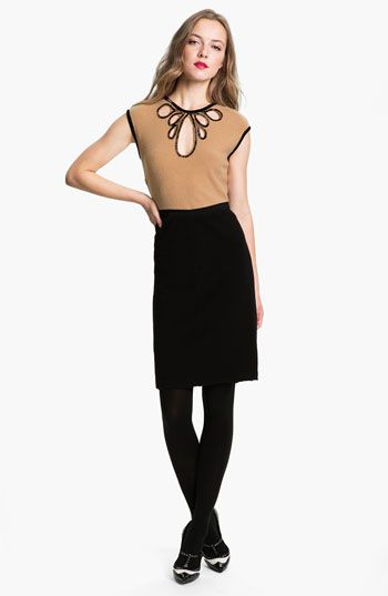 Tory Burch 'Jameson' Wool Sheath Dress available at #Nordstrom