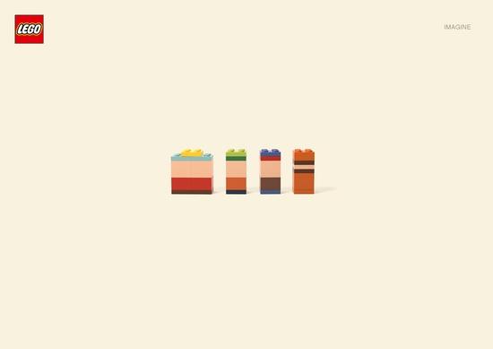 Advertising campaign by Jung von Matt for Lego