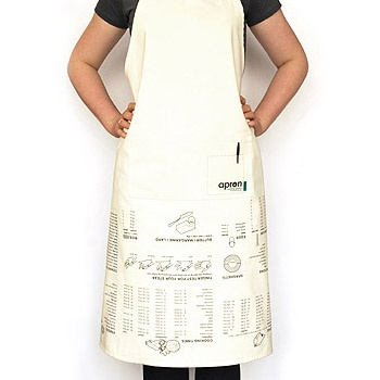 Cooking Guide Apron £14.99