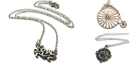 Handmade Charm Necklaces! at VeryJane.com