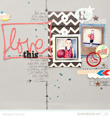 Love This- Studio Calico April Kits : Gallery : A Cherry On Top