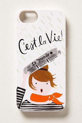 C'est La Vie iPhone 5 Case