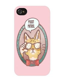 Kitty Patrol iPhone Cover