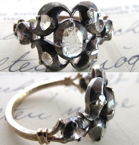 ring - vintage Georgian