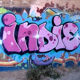 """Indie"" #graffiti #painting #art"