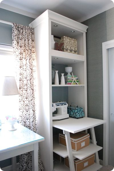 I love this bookcase with the extra desk!!