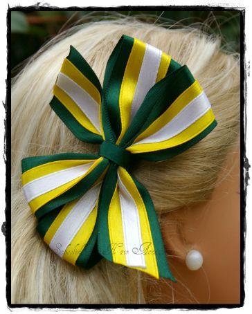 Triple pinwheel clip - Schooled Up Hair Accessories