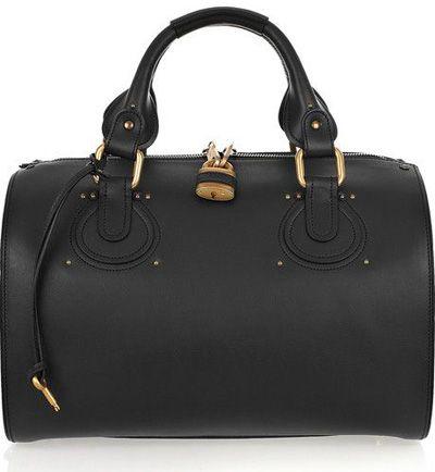 Chloé Aurore Duffel Leather Bag