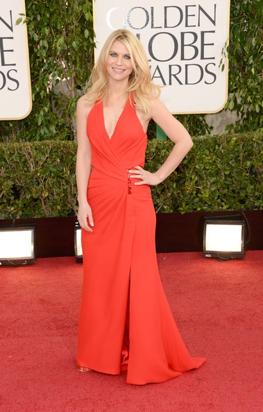 Claire Danes at the 2013 Golden Globes