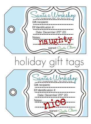 These tags are just to cute!