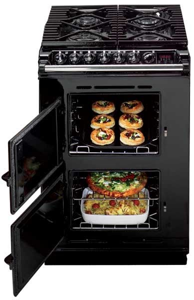 AGA Companion - Finally a really small, really exceptional range and oven for the tiny home kitchen. Is available as a freestanding unit!