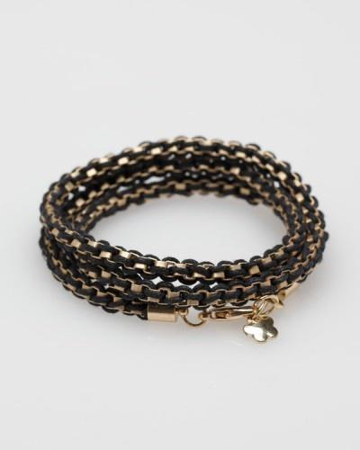 Cubic Wrap Bracelet $20