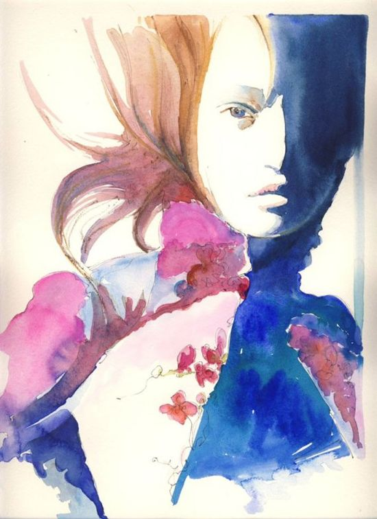 ....because watercolor illustrations are beautiful