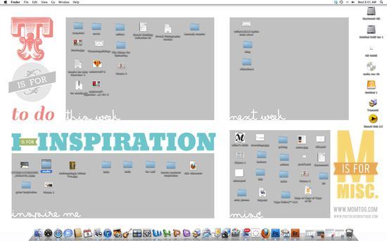 Organize your desktop with this sweet wallpaper. FREE DOWNLOAD. I love this.