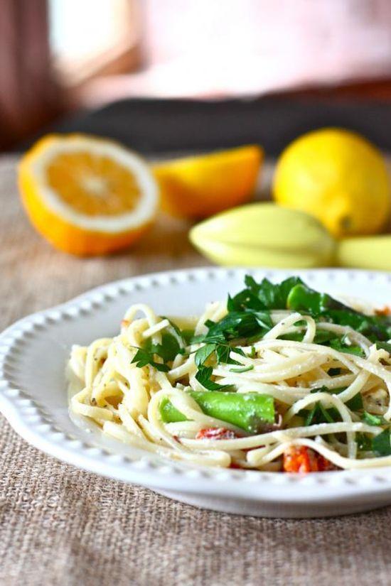 Springtime: Meyer Lemons + Asparagus
