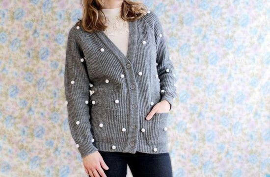 Refashion An Old Sweater Ideas - DIY Fashion