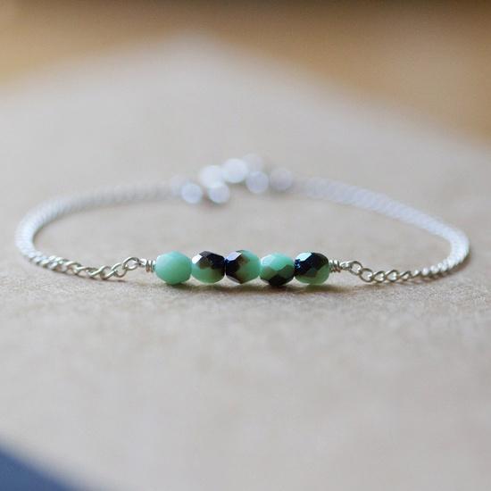 frida - beaded bracelet by elephantine.