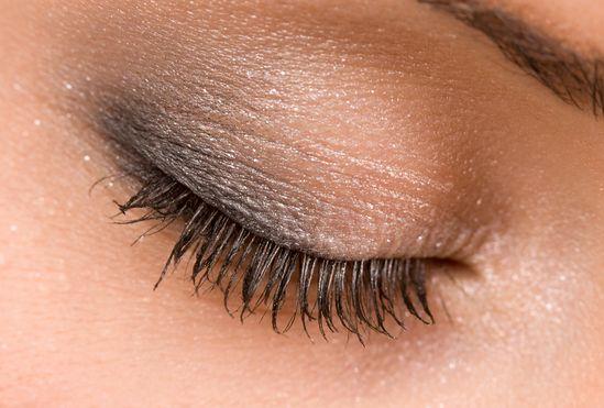 Eye makeup...