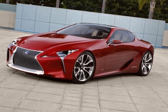 Lexus LF-LC Hybrid Sports Coupe