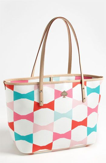 kate spade new york 'signature bow - small harmony' tote available at Nordstrom