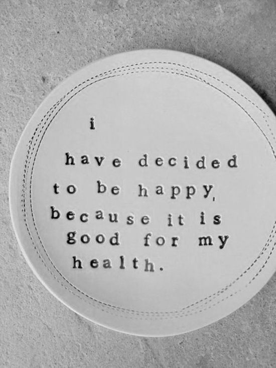 happy = good health