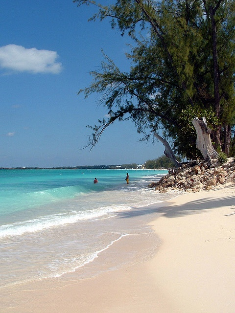 Seven Mile Beach Grand Cayman, Cayman Islands BWI #Caribbean