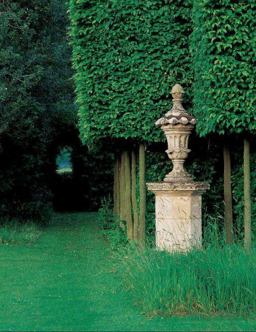 Beautiful urn focal point