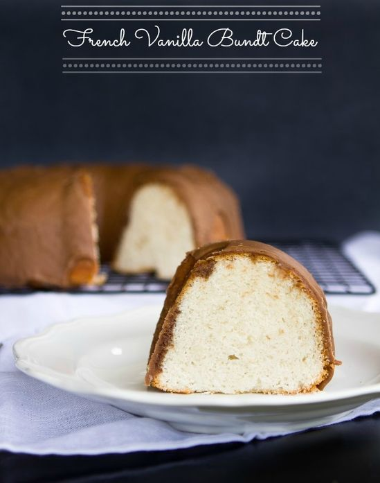 French Vanilla Bundt Cake