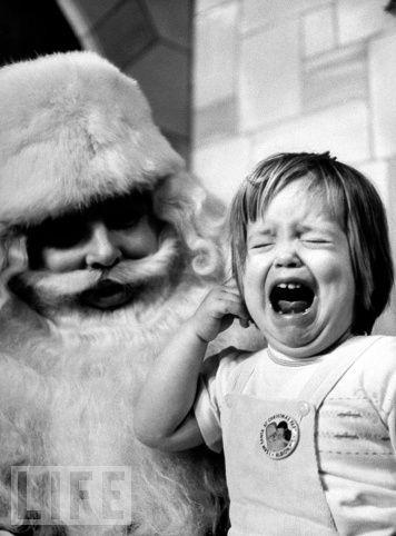 Not everyone loves Santa :)