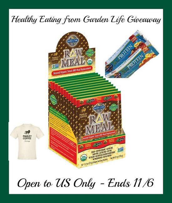 Healthy Eating Healthy Body from Garden of Life Giveaway Ends 11/6