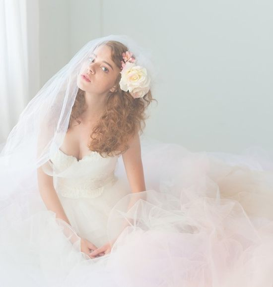 Tulle Wedding Gown  Queen For a Day Gown by clairelafaye on Etsy, $2000.00