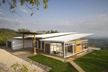 decoracao de interior: Casa Moderna Para Climas Tropicais
