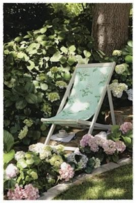 I'm painting and covering a chair just like this one at the moment to sell on my website at www.vintagemoi@hotmail.com