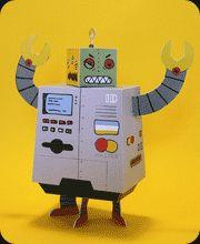 רובוטים וצעצועי נייר