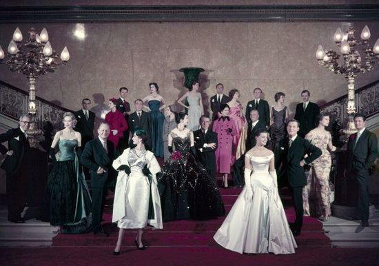 Society of London Fashion Designers, September 1955. #vintage #fashion #1950s