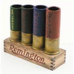 Remington shotgun shell toothbrush holder.