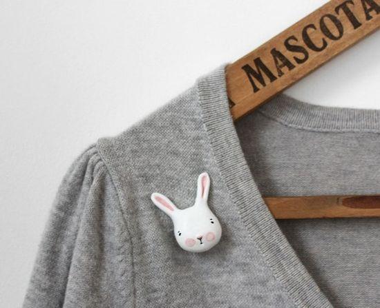 bunny clutch pin £15