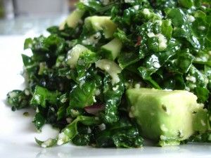 Kale + Avocado Salad
