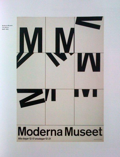 poster Moderna Museet