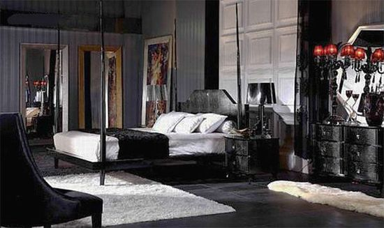 Gothic Inspired Bedroom Design