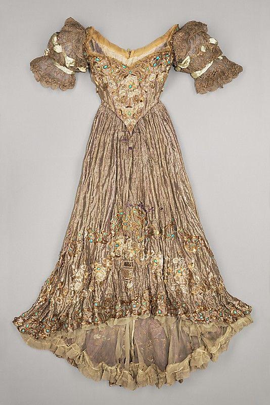 ? Dress, Evening  Jacques Doucet (French, Paris 1853–1929 Paris)  Date: 1898–1900 Culture: French