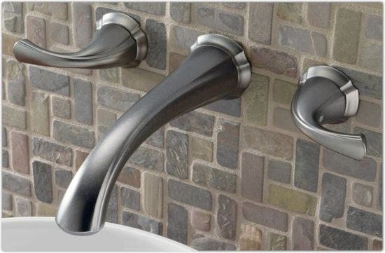 Bathroom, Wall Mount Faucet For Stylish Bathroom: The Wall Mounting Faucets for Your Modern Home Design