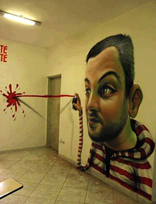 Cool Street Art & Graffiti
